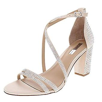 INC dame Kamma metallic strappy kjole sandaler