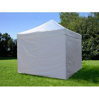 Tente pliante FleXtents PRO 3x3m Argenté, avec 4 cotés