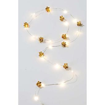 Gold Hair String LED Lights 1m - Christmas - Parties Festivals