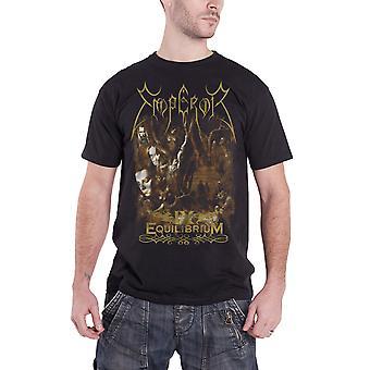 Emperor T Shirt IX Equilibrium IHSAHN TRYM band logo new Official Mens Black