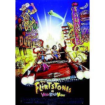 Den Flintsones Viva rock Vegas (dubbelsidig) original Cinema affisch