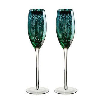 Artland sett 2 Peacock fløyte briller
