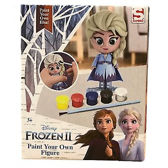Disney Frozen Frozen 2 Elsa Paint Your Own Figure