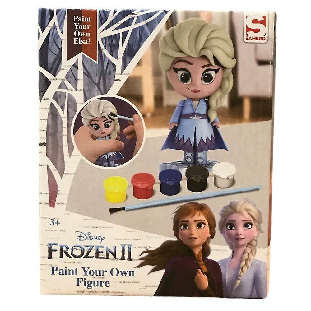 Disney fryst fryst 2 Elsa måla din egen figur