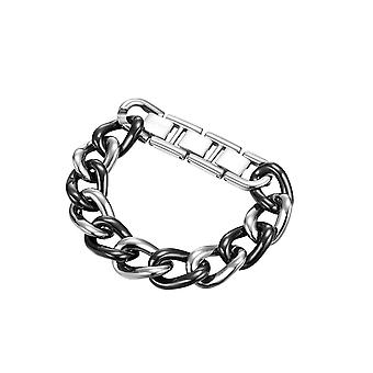 Esprit Collection Women's Bracelet Stainless Steel Silver Black Ceramia ELBR11606B195