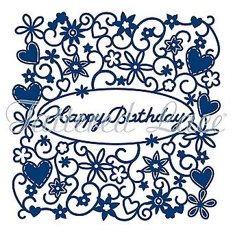 Tattered Lace Happy Birthday Tapestry D490