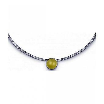 QUINN - Necklace - Women -Silver 925 - Gemstone - Lemonquartz - 27080948