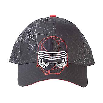 Star Wars baseball cap episode IX Kylo ren logo nye offisielle Black SnapBack