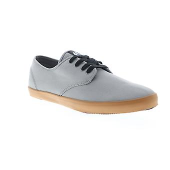 Etnies Patrol  Mens Gray Canvas Low Top Athletic Skate Shoes