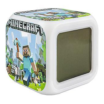 Minecraft Digital Alarm Clock - Steve No. 2