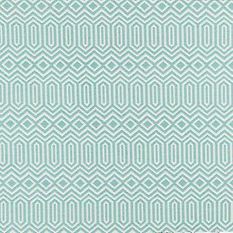 Mcalister textiles colorado tissu vert d'oeuf de canard géométrique