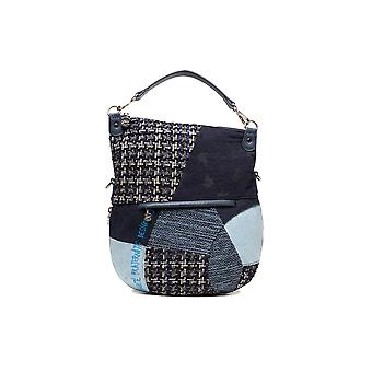 Desigual Women's Liberte Patch Folded Cross-Body Messenger Bag