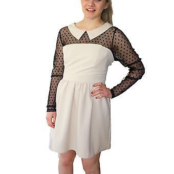 Darling vrouwen ' s Natalia Sheer mouw uitlopende jurk