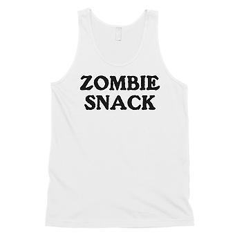Zombie Snack miesten valkoinen hämmästyttävä hilpeä suuri säiliö alkuun puku