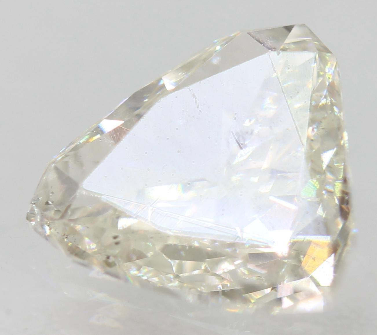 Certified 0.83 Carat G VS2 Triangle Enhanced Natural Loose Diamond 7.63x7.28mm