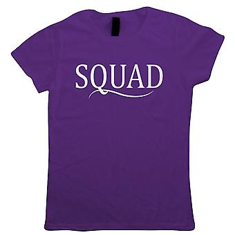 Squad Womens T-Shirt | Happy Birthday Celebration Party Getting Older | Age Related Year Birthday Novelty Gift Present | Birthday Drinking Gift Her Mum