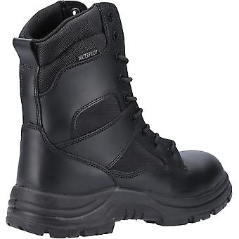 Amblers Safety Mens Combate Alta-Perna Impermeável Metal Free Boot Black