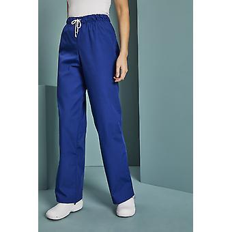 SIMON JERSEY Essentials Unisex Lightweight Scrub Trousers, Royal Blue