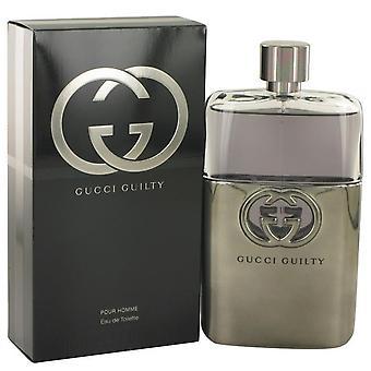Gucci Guilty Eau De Toilette Spray par Gucci 518487 150 ml