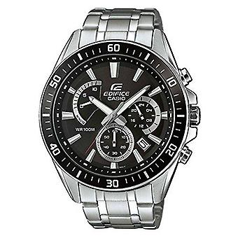 Casio Edifice Stainless Steel Black Dial Men's Chronograph EFR-552D-1AVUEF