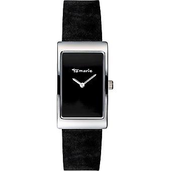 Tamaris - Wristwatch - Aila - DAU 22 - 5 x 38 - 5mm - Argent - Femmes - TW022 - Argent Noir