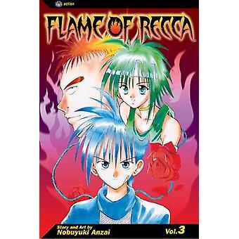 Flame of Recca Vol. 3 by Nobuyuki Anzai