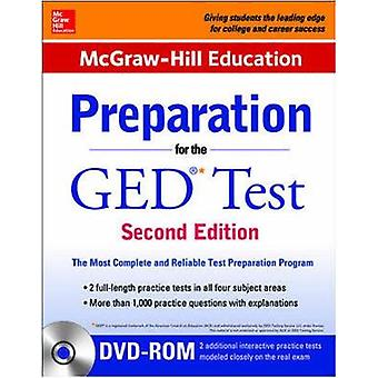 McGrawHill Education Preparation for the GED Test with DVDROM by McgrawHill Education Editors