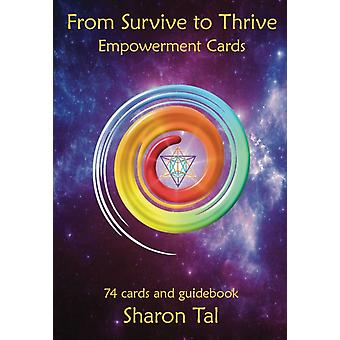From Survive to Thrive Empowerment Cards by Sharon Tal