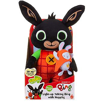 Light Up Talking Bing mit Hoppity Soft Toy