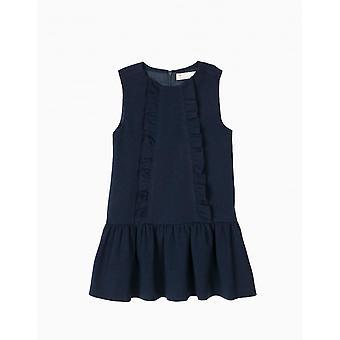 Zippy Dress Ss Dress Blue