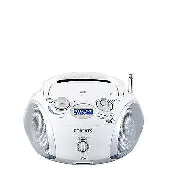 Roberts Roberts Radio Zoombox3 DAB/DAB+/FM/SD/USB-radio CD-soittimella