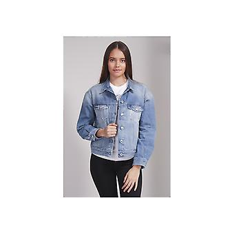 Replay Tucked Back Denim Jacke