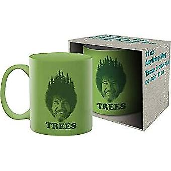 Mug - Bob Ross - Trees Coffee Cup 11oz New 47147