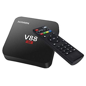 Stuff Certified® V88 4K TV Box Media Player Android Kodi - 1GB RAM - 8GB Storage