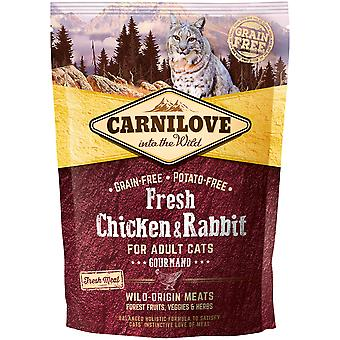 Carnilove Fresh Chic & Rabbit Gourmand (Cats , Cat Food , Dry Food)