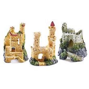 Classic For Pets Small Castles Assort 6pcs (Fish , Decoration , Ornaments)