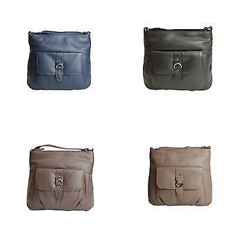 Eastern Counties Leather Womens/Ladies Jackie Buckle Bag