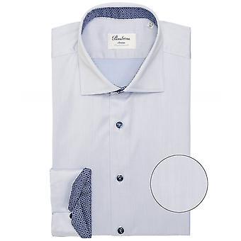 Stenstroms Slimline Geometric Trim Shirt