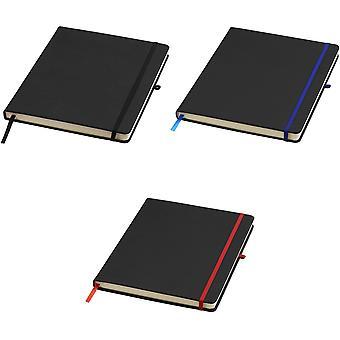 Bullet Noir großes Notebook mit Linien-Seiten