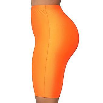 Women's Snakeskin Print Biker Shorts High Waist Active Gym Workout Yoga Short...