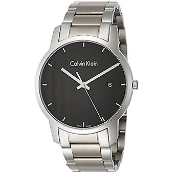Calvin Klein Mens Quartz Analog Watch with stainless steel band K2G2G14Y