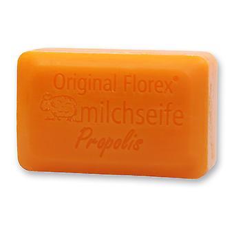 Sabão de leite de ovelha Florex - Luxo de Própolis - Sabão Doce Perfumado com Extrato de Mel Fornece Umidade Intensa 100 g