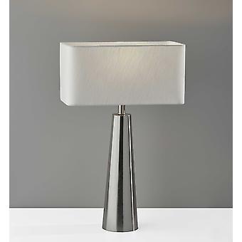 Lámpara de mesa de metal de acero Urban Edge Slate