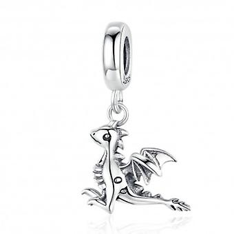 Sterling Sølv Vedhæng Charm Dragon - 6316