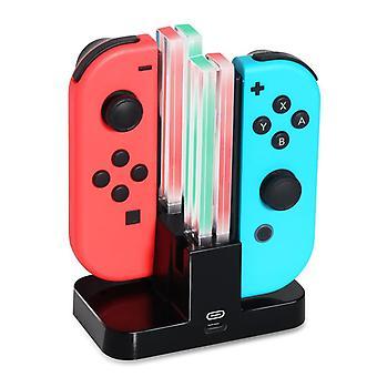 Nintendo Switch Joy-Con Ladestation für 4 Gamecontroller