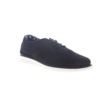 Ben Sherman Omega Casual Wingtip Mens Black Mesh Oxfords & Lace Ups Chaussures