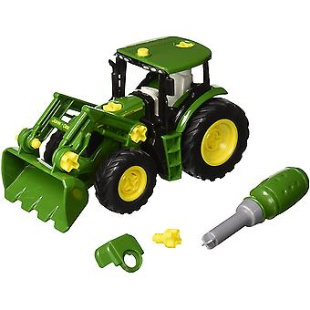 Theo Klein John Deere Take Apart Tractor with Front Loader and Weight For Ages