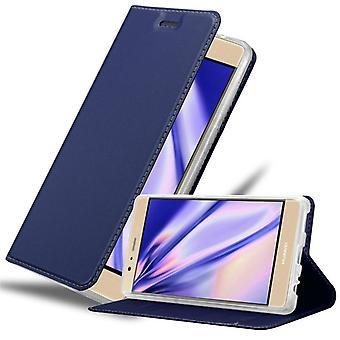Cadorabo tapauksessa Huawei P9 PLUS tapauksessa tapauksessa kansi - puhelimen tapauksessa magneettinen lukko, seistä toiminto ja korttiosasto - Kotelo cover suojakotelo tapauksessa kirja taitto tyyli