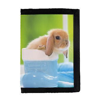 Monedero de conejo