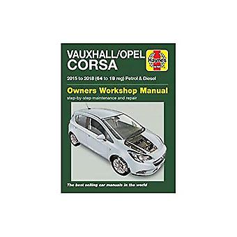 Vauxhall/Opel Corsa petrol & diesel ('15-'18) 64 to 18 by Euan Do